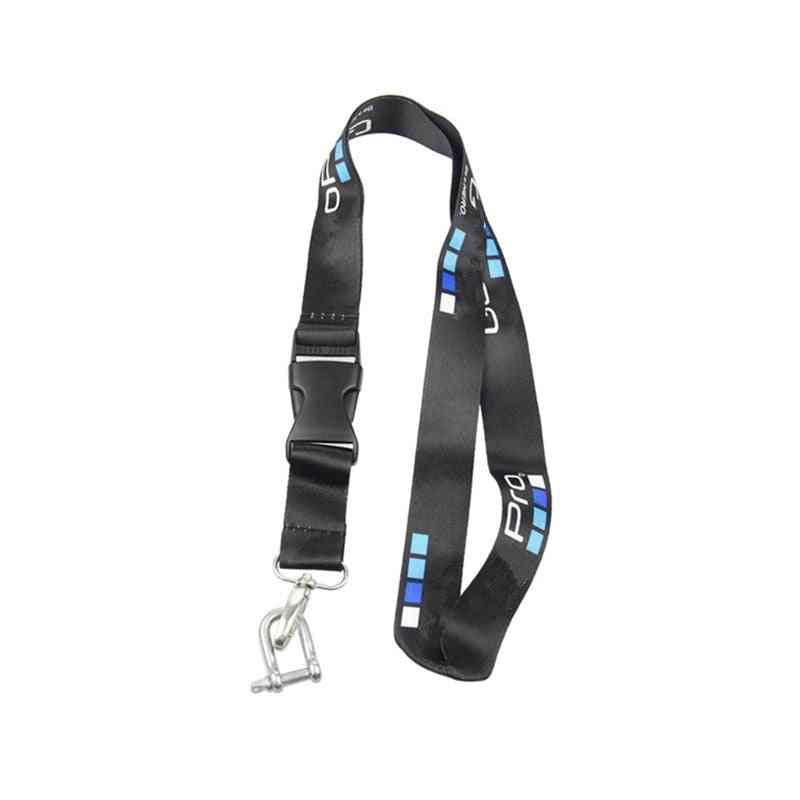 Sports Camera Rope For Gopro Hero - Neck Strap Lanyard With Quick-released Buckle