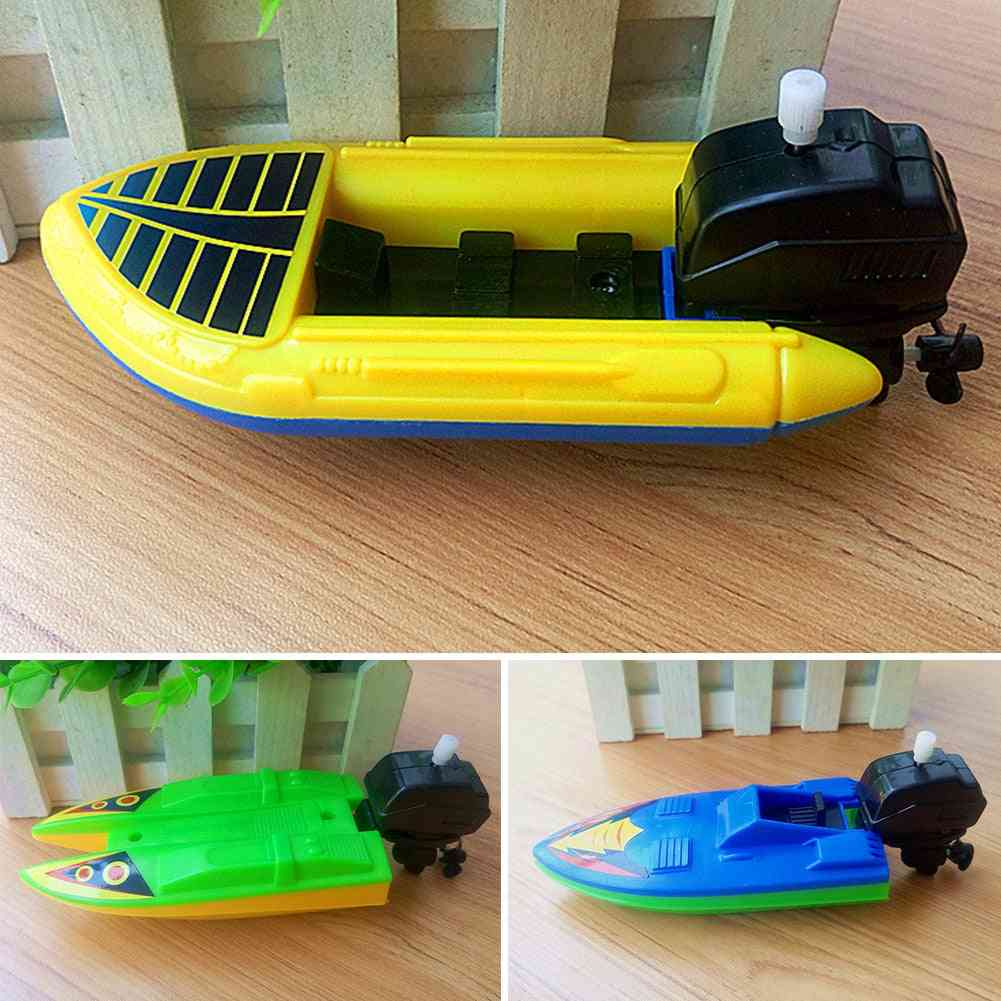 Clockwork Motorboat-children's Summer Bathing Toy