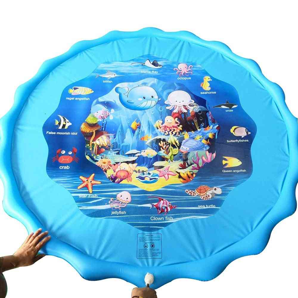 100cm's Summer Water Mat- Inflatable Spray