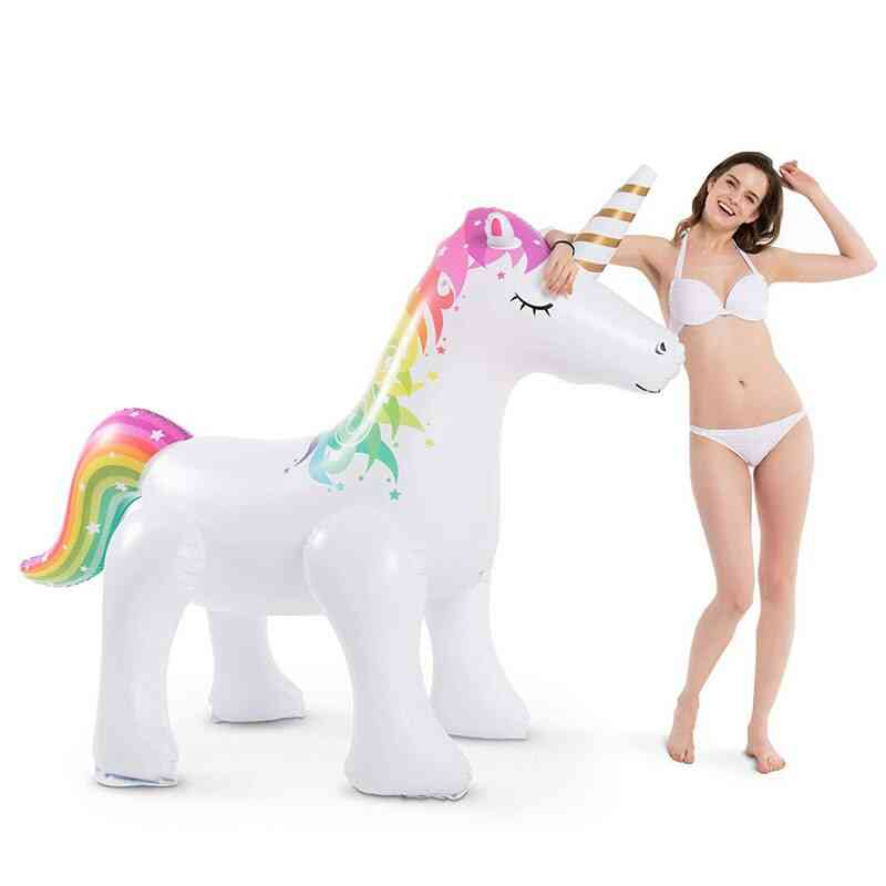 Inflatable Elephant And Unicorn Design-water Sprinkler