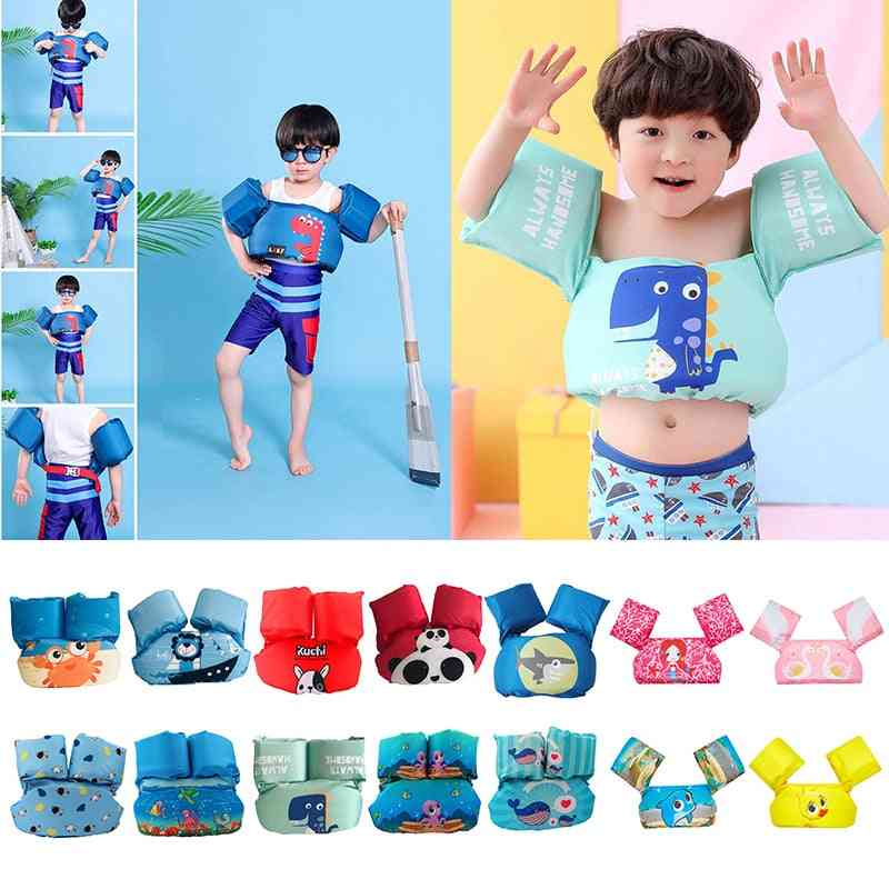Children's Life Jacket-swimming Safety Vest And Float Arm Sleeves