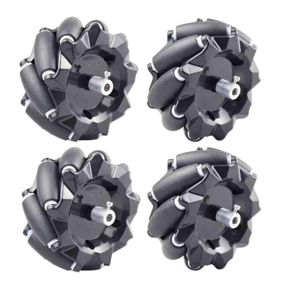 Omni Mecanum Wheel With 4/6mm Couplings