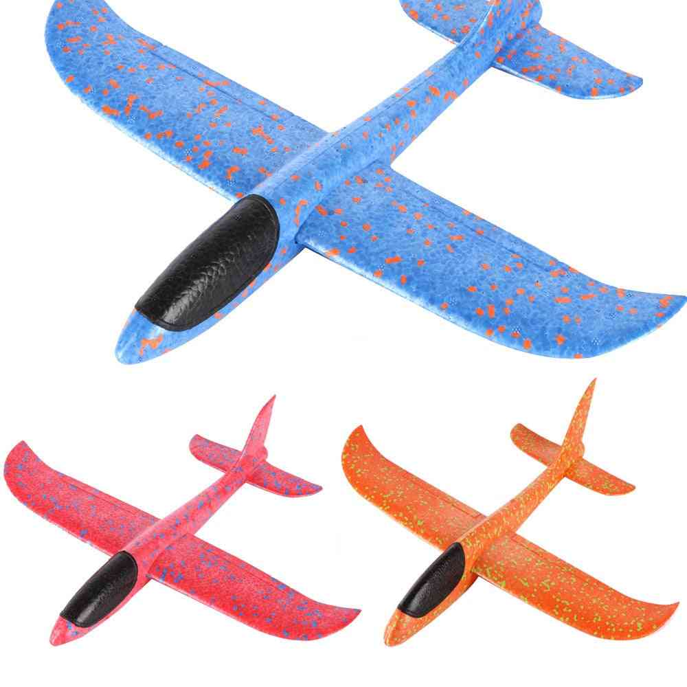 Foam Throwing Glider Airplane Epp Inertia Aircraft Toy