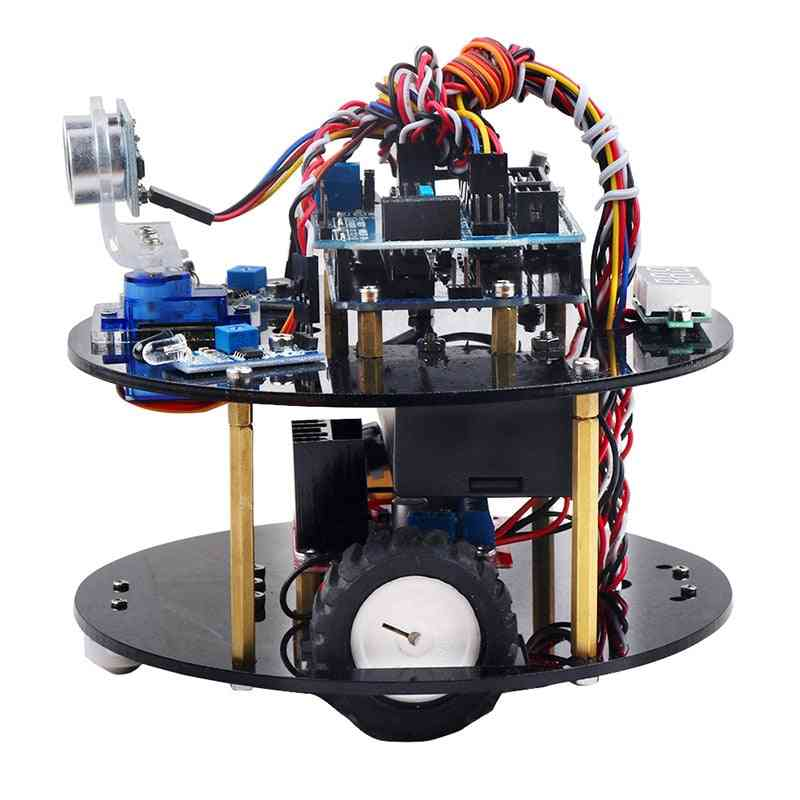 Keywish Robot For Arduino Uno R3 - Smart Cars Kit App Rc Remote Control Ps2