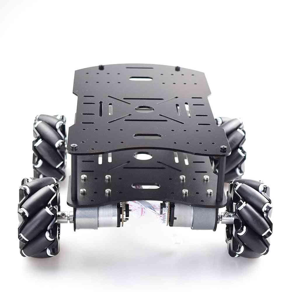 Double Plate 4wd Omni Mecanum Wheel Car Kit