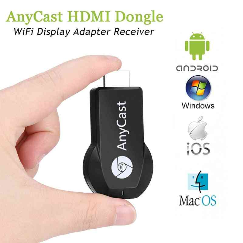 Anycast M2 Plus Miracast Tv Stick Adapter Wifi - Wireless Playback Dongle Display Receiver