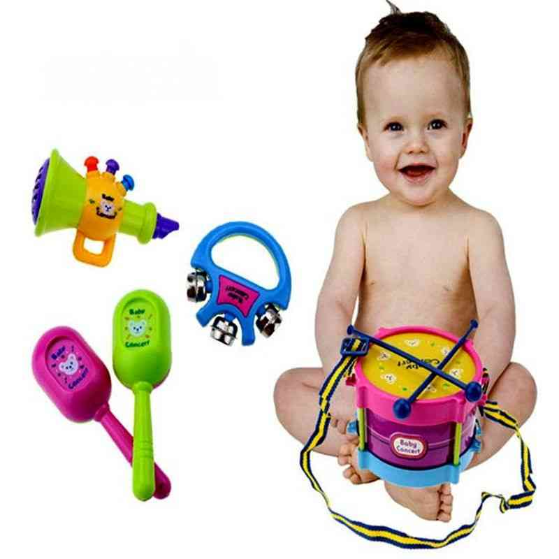 Baby Roll Drum Musical Instruments Band Kit Toy