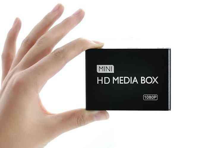 Full Hd 1080p Usb External Media Player With Hdmi Sd Box