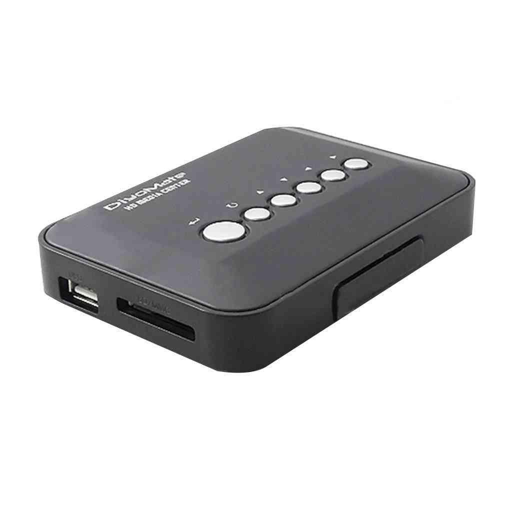 Mini Hd 720p Hdd Media Player Tv Box Av