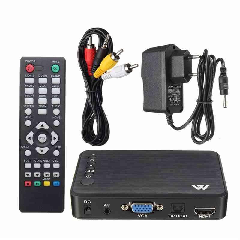 Mini 1080p Hdmi Multimedia Player Kits