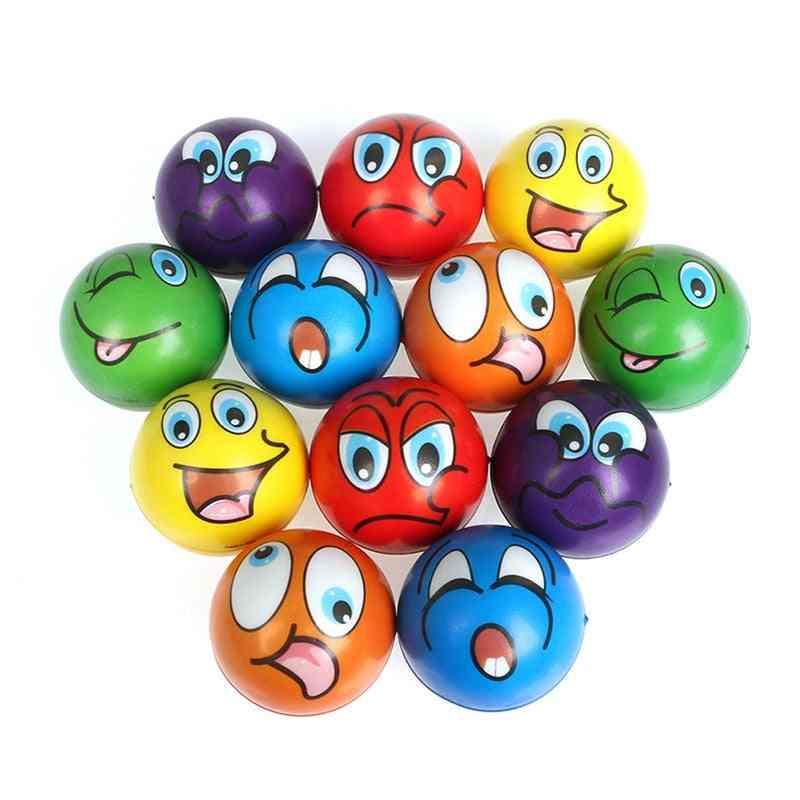 Soft Foam Pu Squeeze Squishy Balls For
