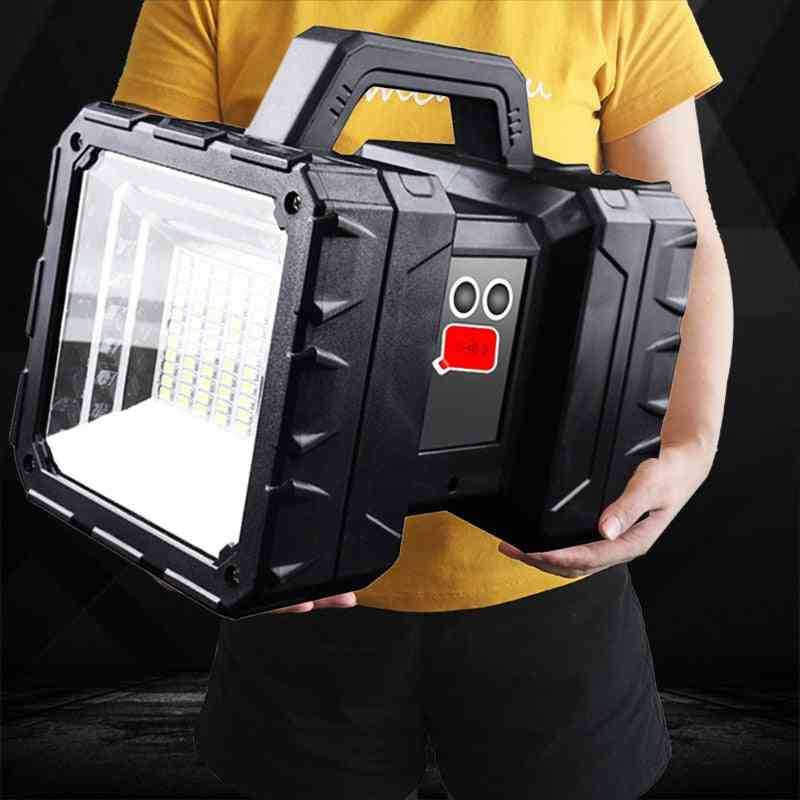 Super Bright Led, Waterproof, Rechargeable - Double Head Searchlight