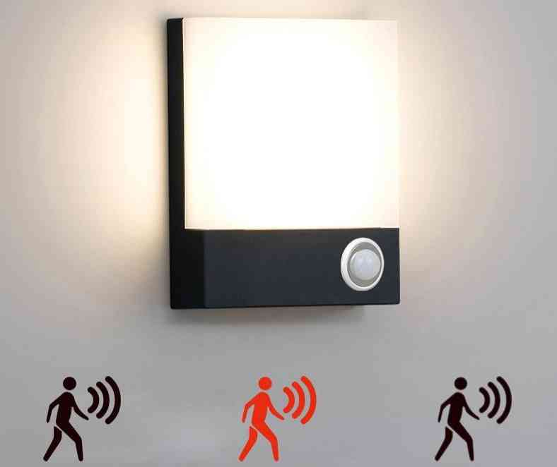 Motion Sensor Modern Waterproof Led, Wall Lamp