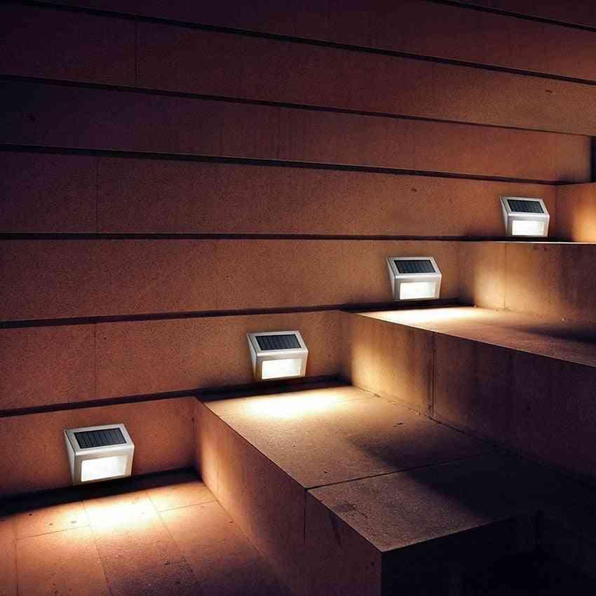 Led Solar Lamp With Smart Lighting Sensor