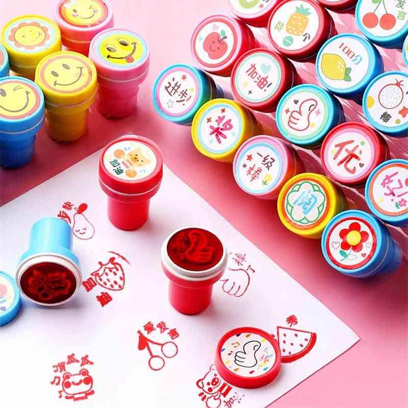 Various Shapes, Self-ink Stamp-cartoon Printing Set