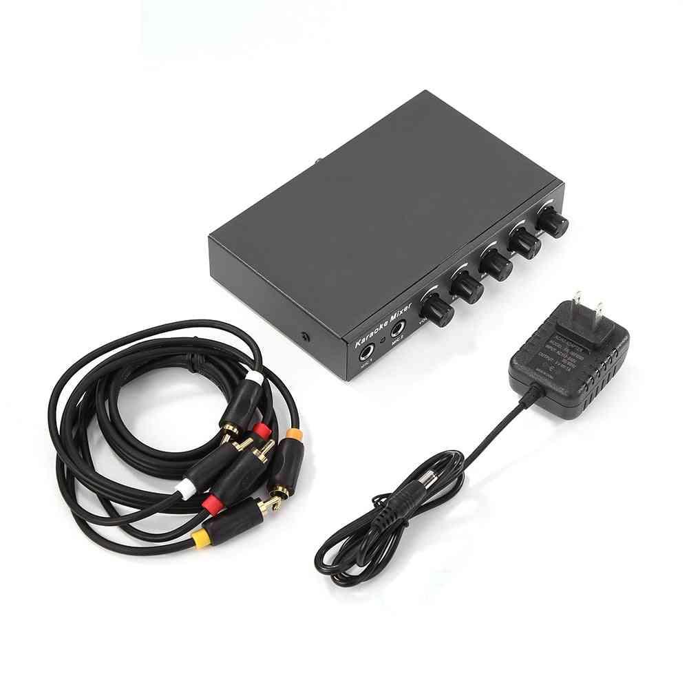 Classic Portable Audio Mixer, Multi-functional Practical And Durable Amplifier Karaoke
