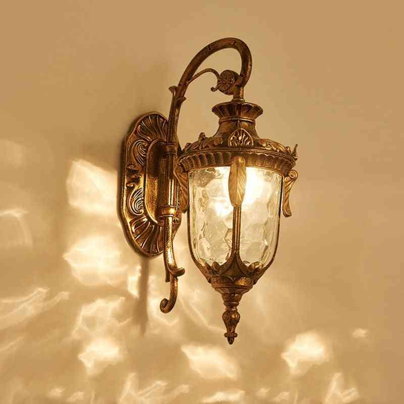 Water Proof And Safe Wall Light Lamp For Garden, Doorway And Porch