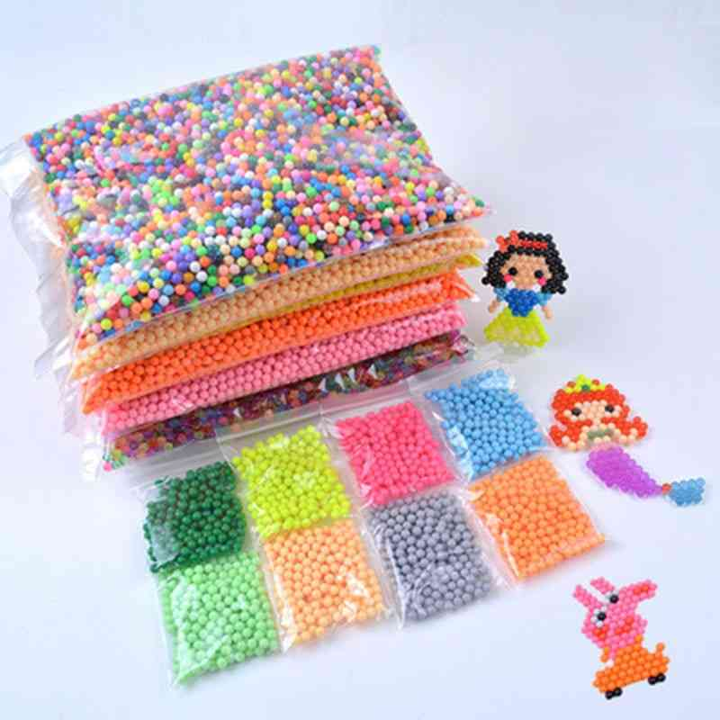 5mm Water Spray Magic Beads, Educational 3d Puzzle Kit For