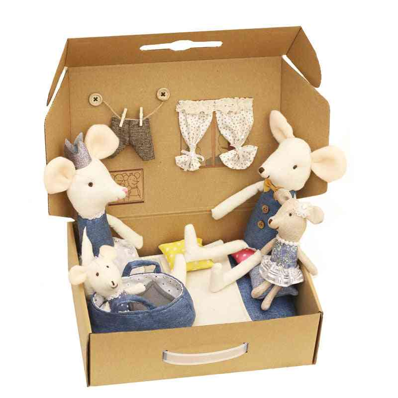 Mini Cute Mouse Doll Box For