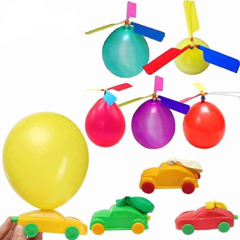 Classic Inflatable Helicopter Balloon Toy