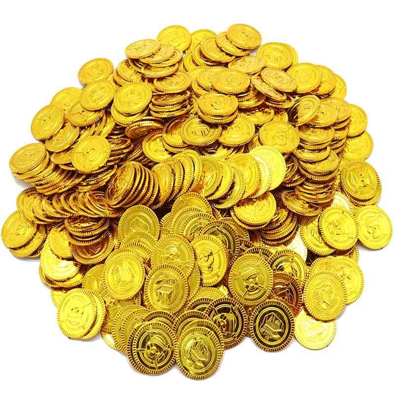 Children's Treasure Hunting Game Props Coin