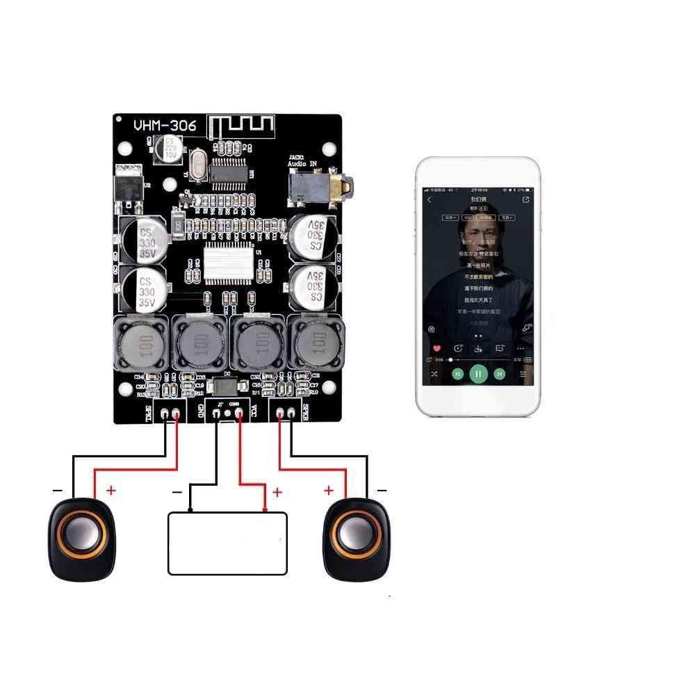 Dc Stereo Audio, Bluetooth Digital Power Amplifier Board