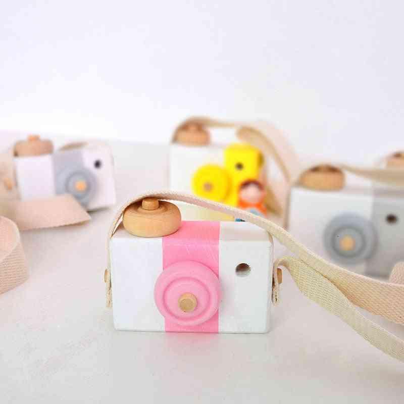 Cute Wooden Camera Block