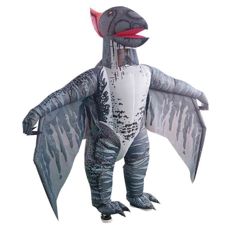 Cute Pterosaur Inflatable Costume For Halloween Cosplay Party, Fancy Dress Outfits