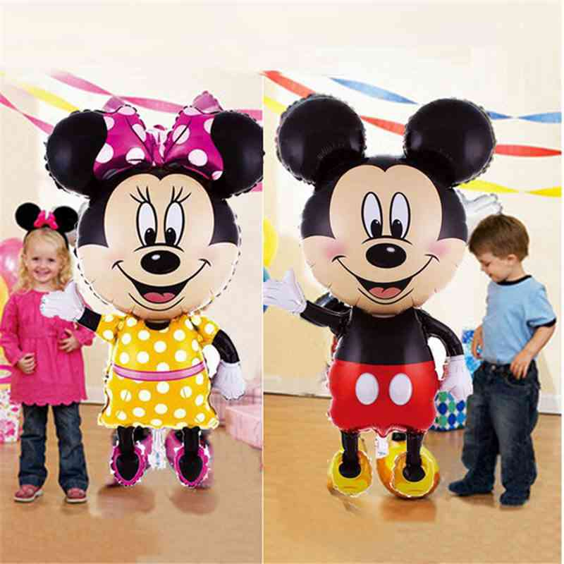 Disney Mickey Minnie Balloons - Birthday Wedding Party Decoration Air Balloons