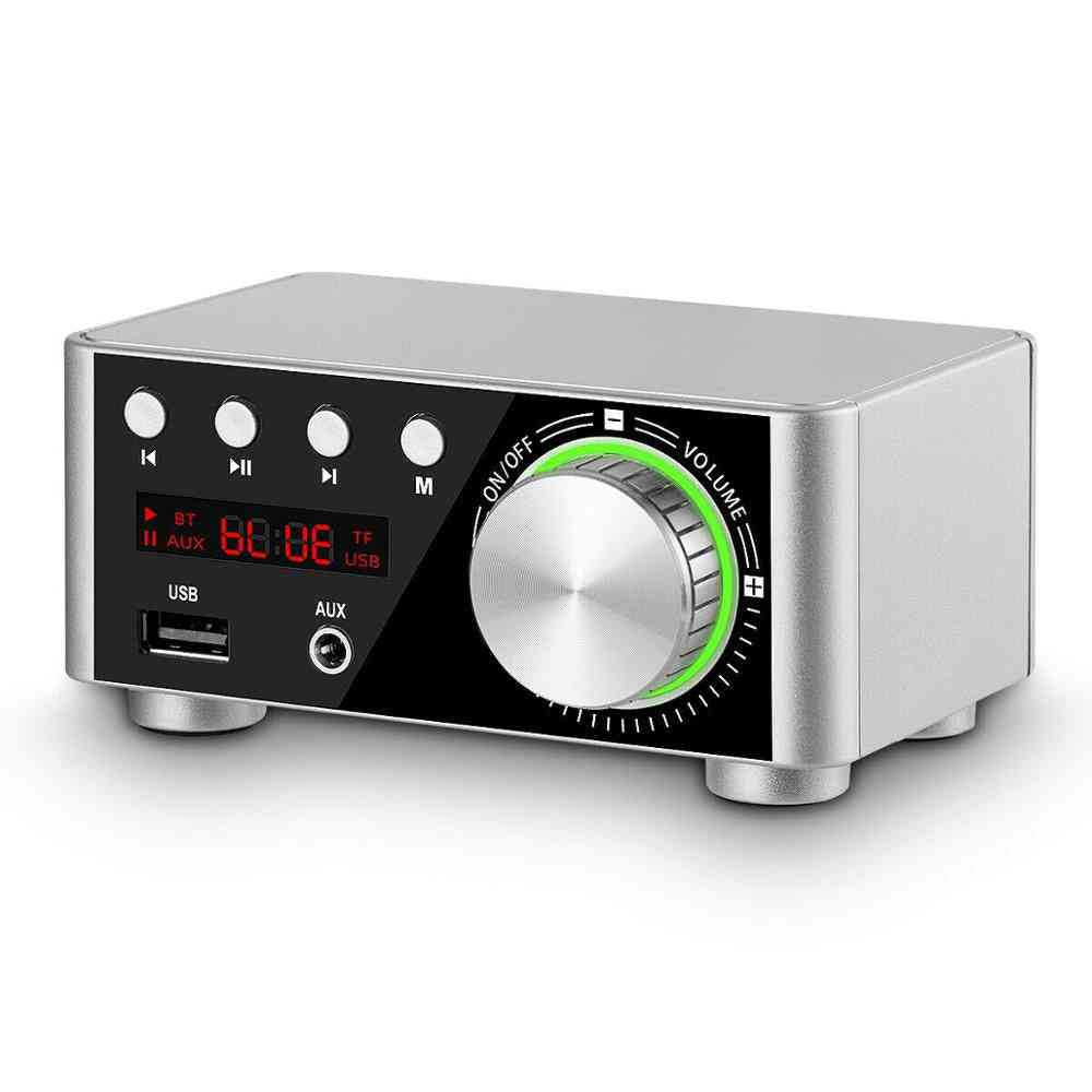 Mini Bluetooth-5.0, Digital Power Amplifier And Music Player