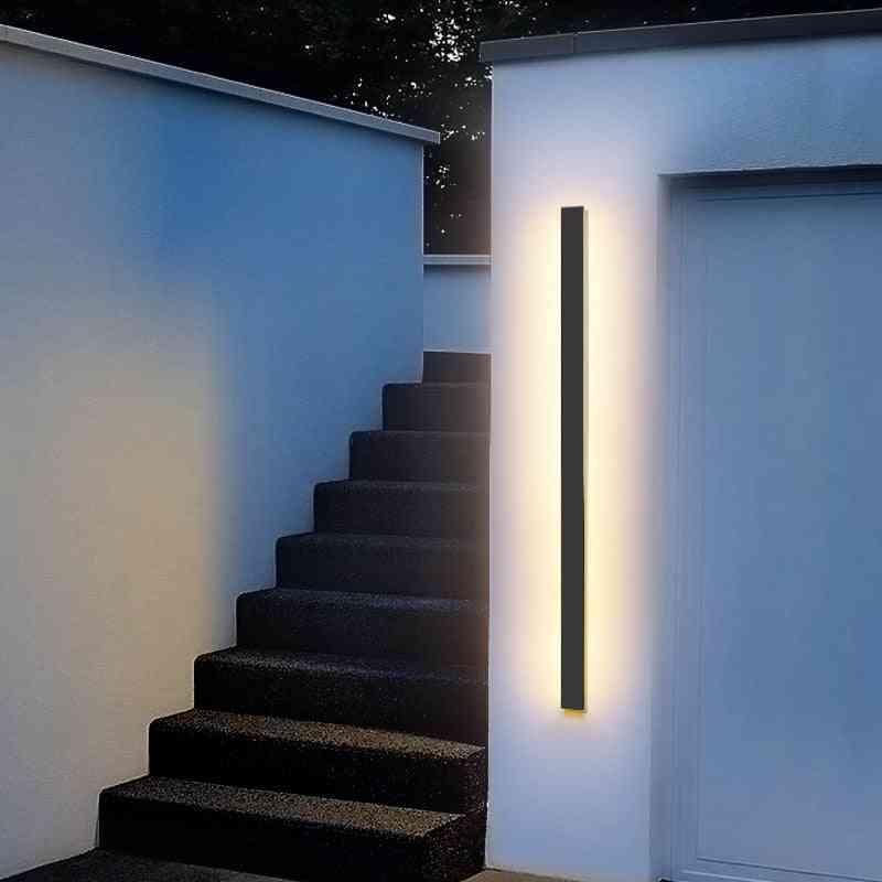 Waterproof Outdoor - Led Long Wall Lamp