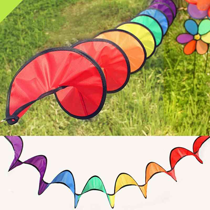 New Colorful And Foldable Camping Tent,  Rainbow Spiral Windmill
