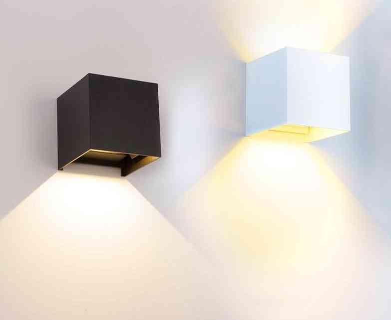 Waterproof Led Wall Light - High Brightness Up And Downlight
