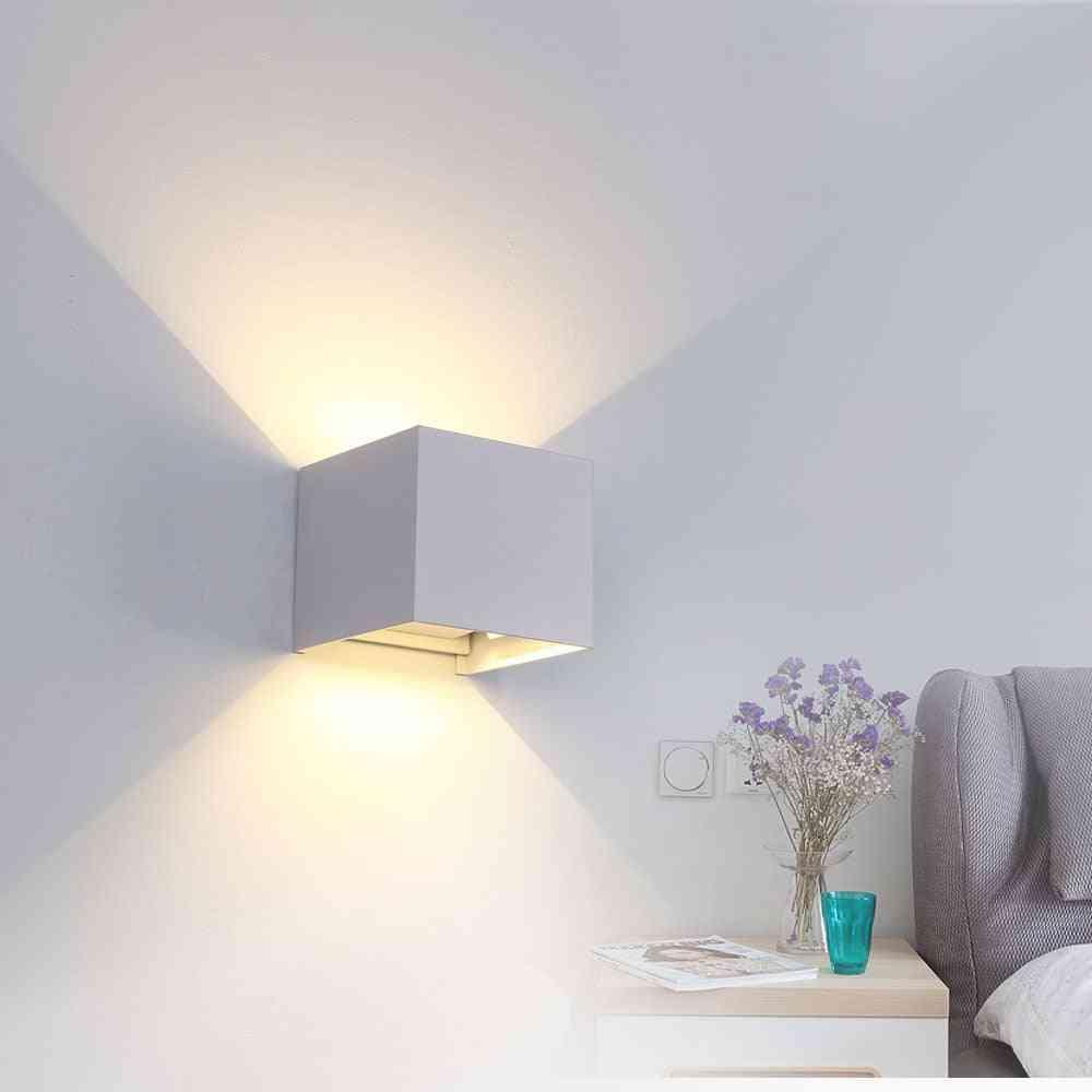 Led Wall Light - Ip65 Outdoor, Waterproof Adjustable Angle