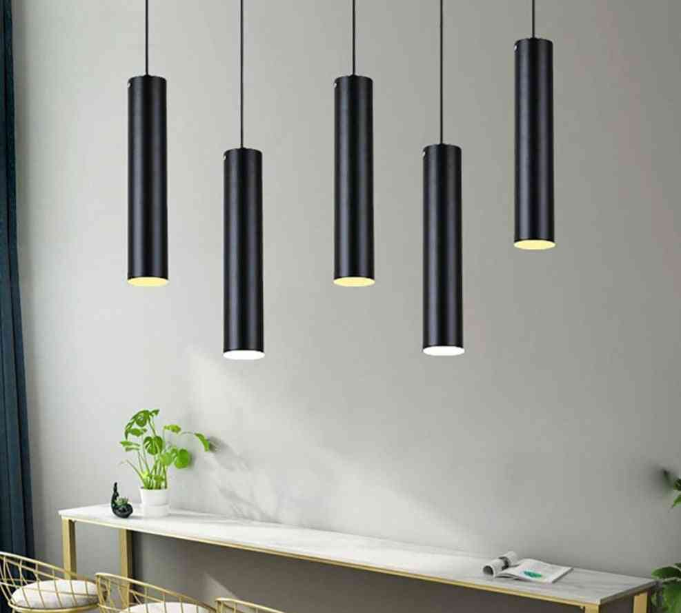 Led Track Light Lamp - Aluminum Ceiling Rail, Spotlights For Kitchen, Island, Dining Room, Shop, Bar