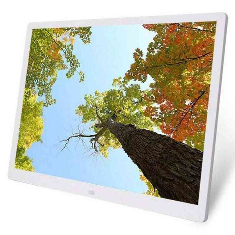 Hd Digital Photo Frame Mp3 Mp4 Movie Player Alarm