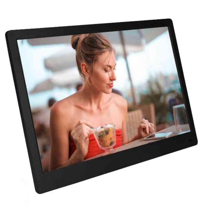 Ips Hdmi 15. 6 Inch Backlight - Full Function Digital Photo Music Video Frame