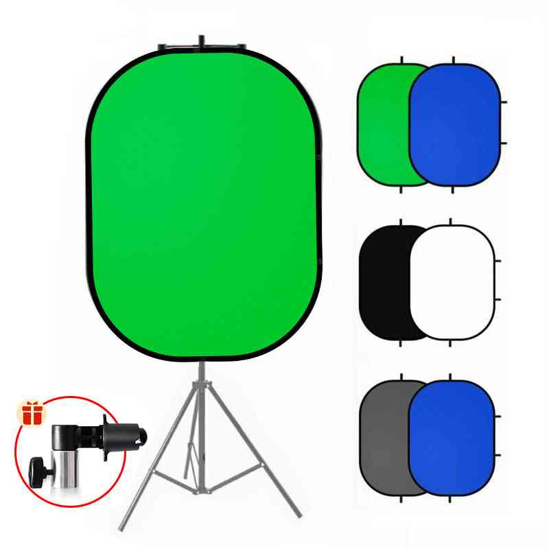 Photography Reflector Chromakey Backdrop Green Screen Background Backdrops For Youtube Video Studio
