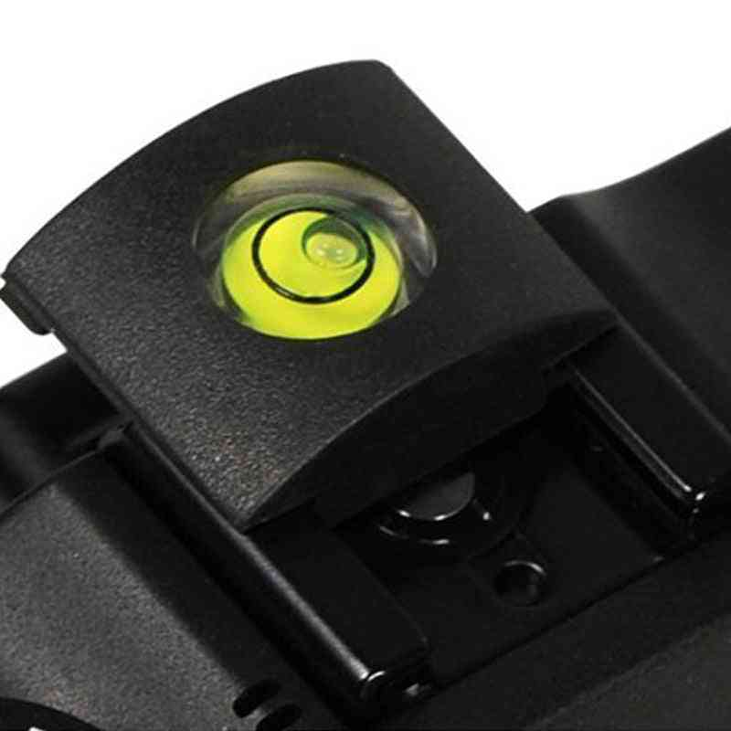 Camera Bubble Spirit + Hot Shoe Protector Cover Level Camera Accessories Universal Dslr For Canon For Nikon High Quality