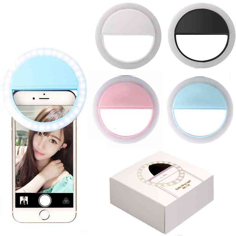 Universal Fill-in Light Led Ring For Iphone And Androids