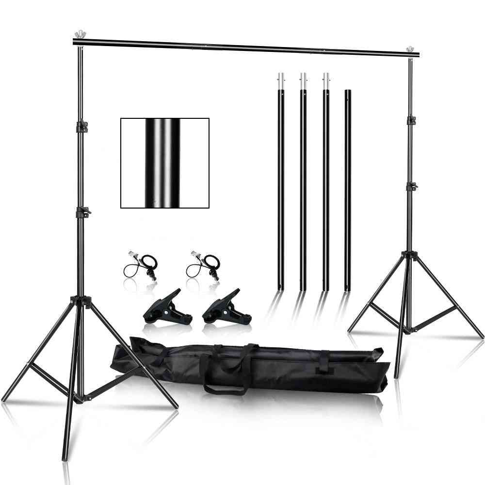 Photography Muslin Backgrounds-and  Picture Frame With Carry Bag