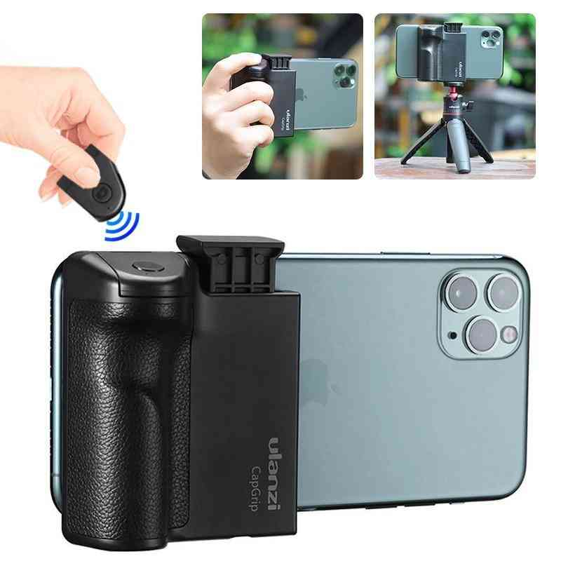 Ulanzi Capgrip Wireless Bluetooth Selfie Booster For 2 In 1 Video Photo Phone Adapter, Holder Handle Grip Stand Tripod Mount