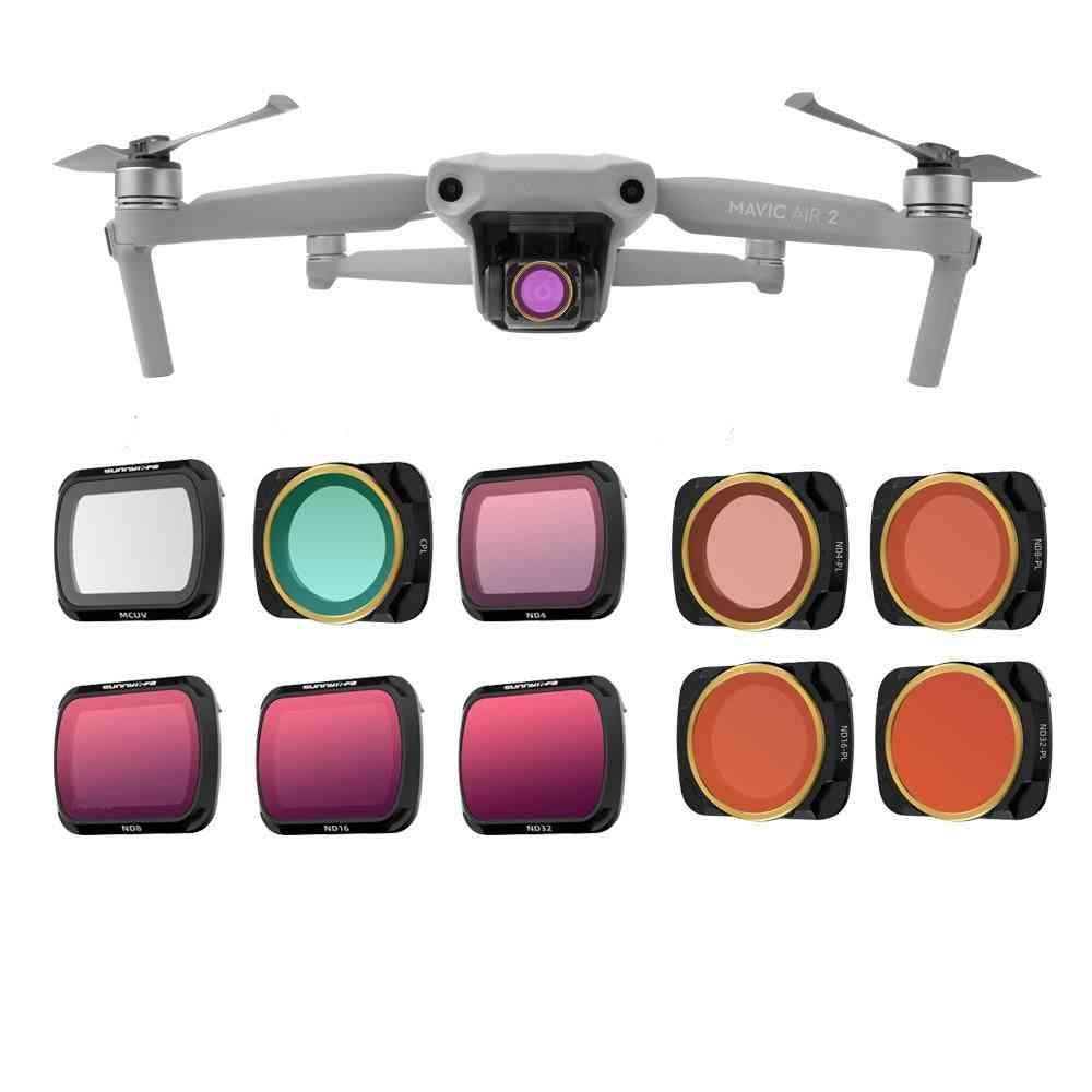 Multi-layer Coating Films, Lens Filter For Dji Mavic Air 2 Drone