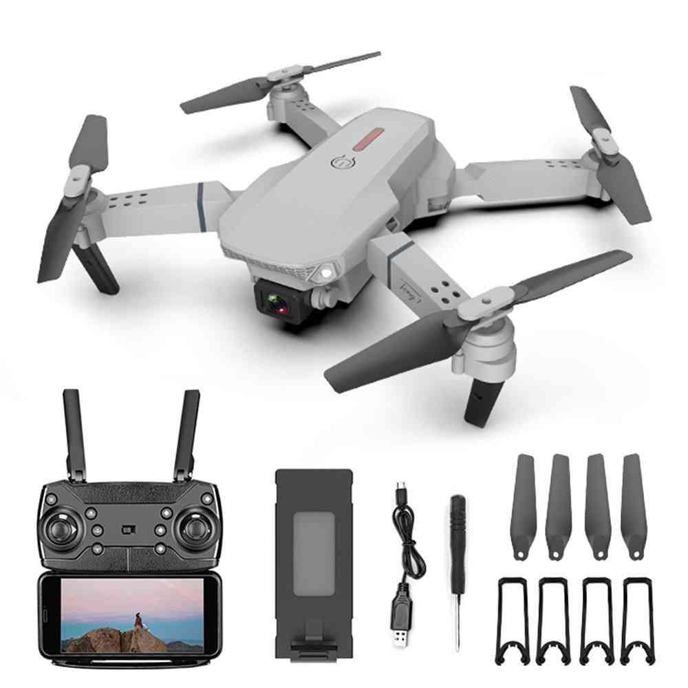 4k Dual Camera, Wifi-fpv-drone With Wide-angle, Hd-720p/1080p