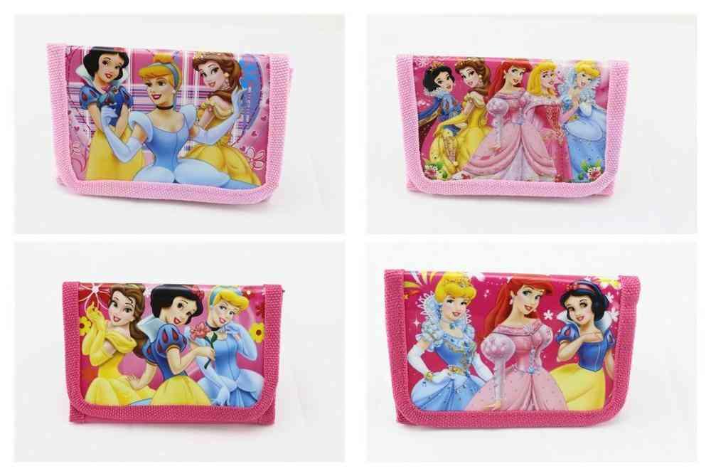 Disney Frozen Cartoon Short Cute Wallets, Handbags, Coin Purses