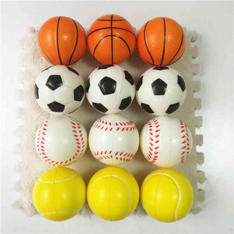 Football, Basketball, Tennis And Baseball-squeeze Toy For Kids
