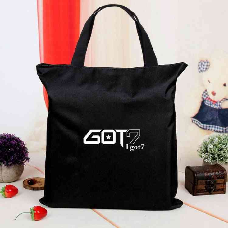 Got7 Canvas Bag Casualbag, Kpop Fans Collection