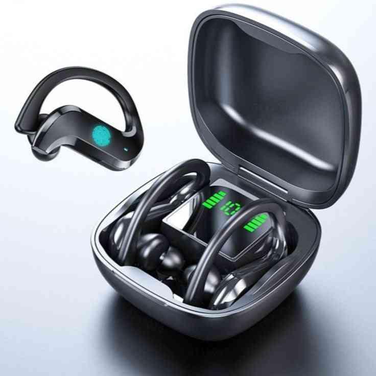 Bluetooth Earphone Led Display, Wireless Headphone Tws With Microphone Stereo Earbuds