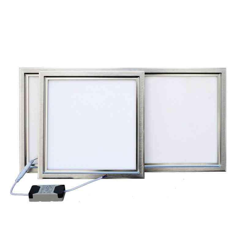 Integrated Ceiling Led Panel Lamp - Kitchen, Bathroom, Embedded Aluminum Gusset Lighting