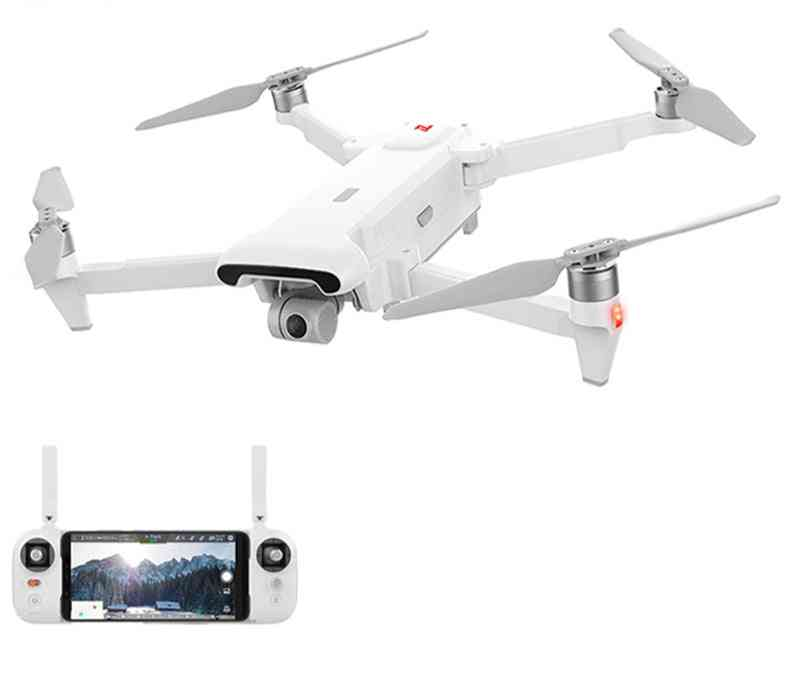 3-axis, 4k Camera-remote Control Quadcopter With Transmitter, Battery, Propeller And Usb Cable